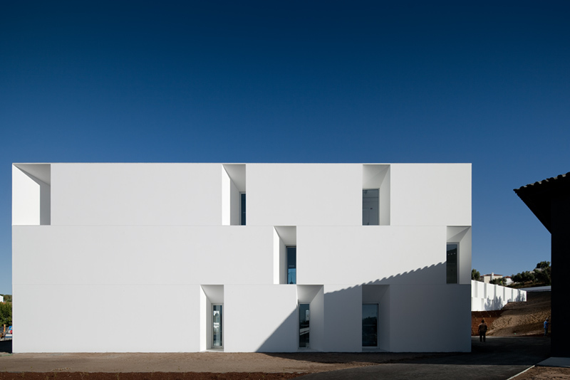 Aires Mateus House For Elderly People The Photophore