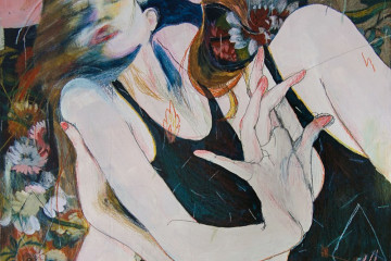 Alexandra Levasseur: dream-like feminine figures