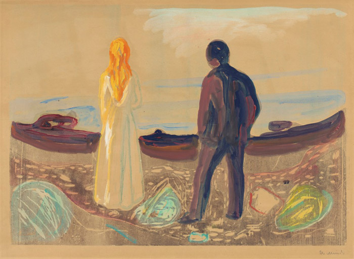 a study of the life and works of edvard munch Munch died on 23 january 1944, and all of the paintings he left are now in the munch museum in oslo, norway [2] the munch museum is the most important collection of works of any medium by edvard munch.