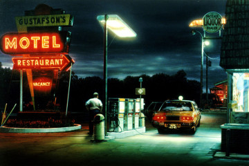 Bygone photorealism by Robert Gniewek