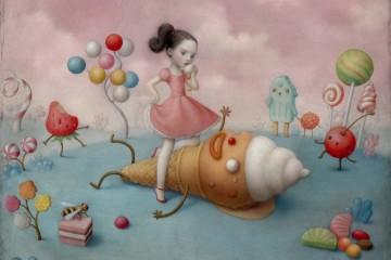 Nicoletta Ceccoli: haunting imagination