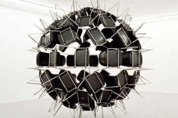 Retooled everyday appliances by Michel de Broin