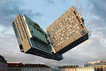 Distorted architecture by Victor Enrich