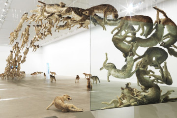 Cai Guo-Qiang: recreating fauna