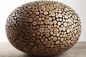 Jaehyo Lee's intricate wood sculptures