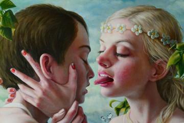 Jana Brike's bitter-sweet painting