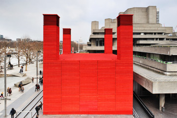 The Shed theatre by Haworth Tompkins Architects