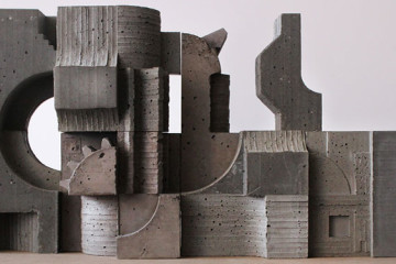 Concrete modular works by David Umemoto