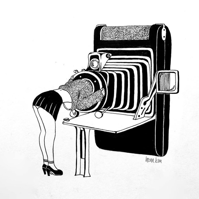 Minimal And Surreal Illustrations By Henn Kim The Photophore