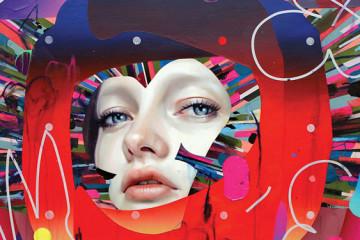 Erik Jones' vibrant painting