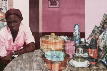 Njideka Akunyili Crosby: transcultural identity
