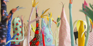 Adam Frezza & Terri Chiao's Paper Plants