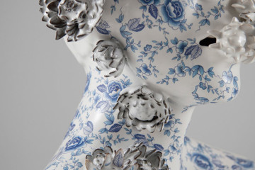 Jess Riva Cooper: insidious ceramic plants