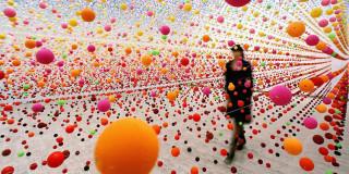 Nike Savvas' multicolour works