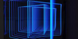Light-based art by Hans Kotter