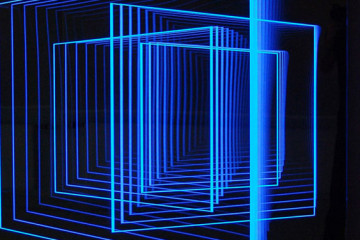 Light-based art by Hans Kotter