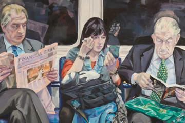 Ewing Paddock: painting London Underground