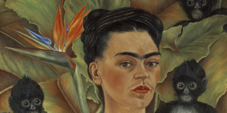 Frida Kahlo and Diego Rivera at the Art Gallery NSW