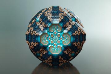 Fractal universe by Tom Beddard