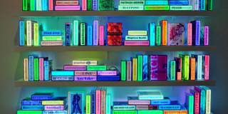 Luminous books by Airan Kang