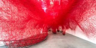 Chiharu Shiota at Blain|Southern