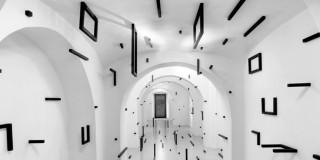 Esther Stocker: geometric black patterns