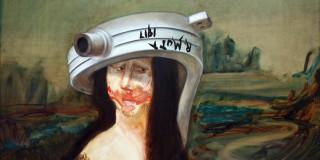 Gaël Davrinche: irreverent Mona Lisa