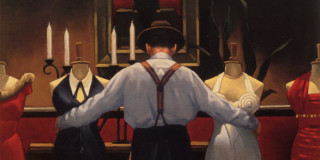 Jack Vettriano: love and paint
