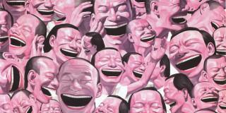 Yue Minjun's laughter