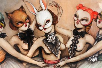 Miss Van: feminine Street Art