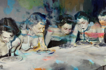 Joshua Flint: paintings about past and present