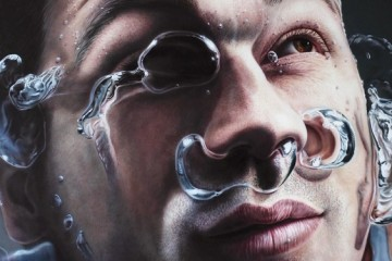 David Uessem's photorealistic portraits