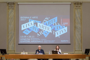 Venice Art Biennale 2017 – Press Conference