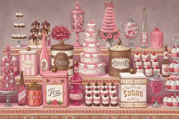 Mark Ryden: The Art of Whipped Cream at Paul Kasmin Gallery