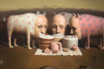 Avery Palmer's allegorical scenarios