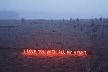 Jung Lee: text-based light installations