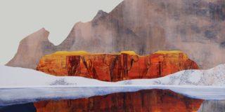 Landscape painting by Sarah Winkler