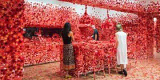 Flower obsession by Yayoi Kusama