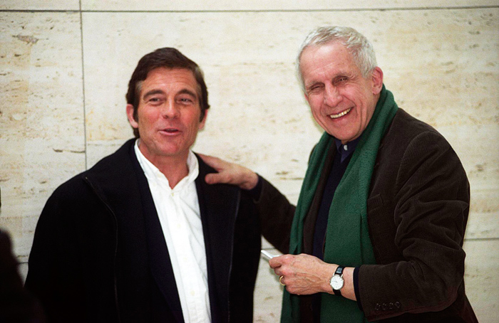 Kenneth Frampton with Alberto Campo Baeza at Caja Granada, Granada, 2003 - Image courtesy of Alberto Campo Baeza