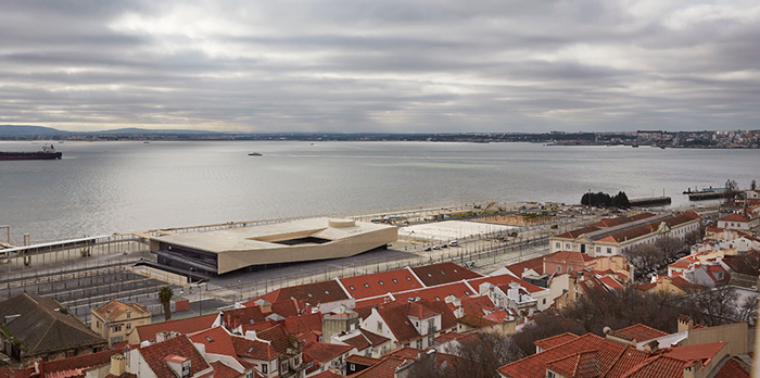 Lisbon Cruise Ship Terminal, Lisbon - João Luís Carrilho da Graça - Photo: Rita Burmester - Portuguese Pavilion at Venice Architecture Biennale 2018: Public Without Rhetoric