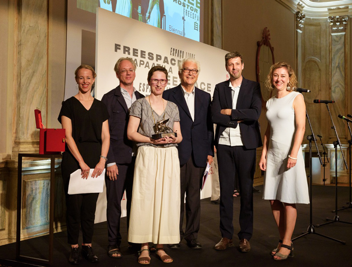 Venice Biennale of Architecture 2018: Silver Lion for Promising Young Participant in FREESPACE Exhibition - Jan de Vylder, Inge Vinck, Jo Taillieu - Image Courtesy of La Biennale di Venezia