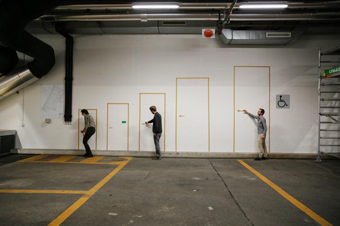 «Svizzera 240: House Tour» © Alessandro Bosshard, Li Tavor, Matthew van der Ploeg and Ani Vihervaara