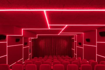Delphi LUX, Cinema by Batek Architekten + Ester Bruzkus Architekten