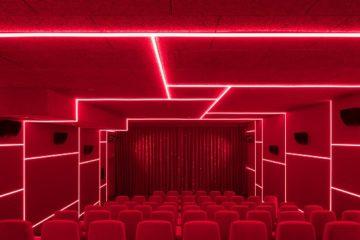 Delphi LUX, Cinema by Batek Architekten + Ester Bruzkus Architekten