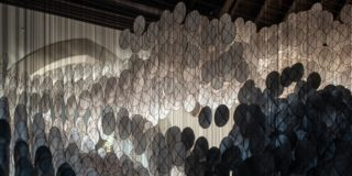 Jacob Hashimoto on Governors Island