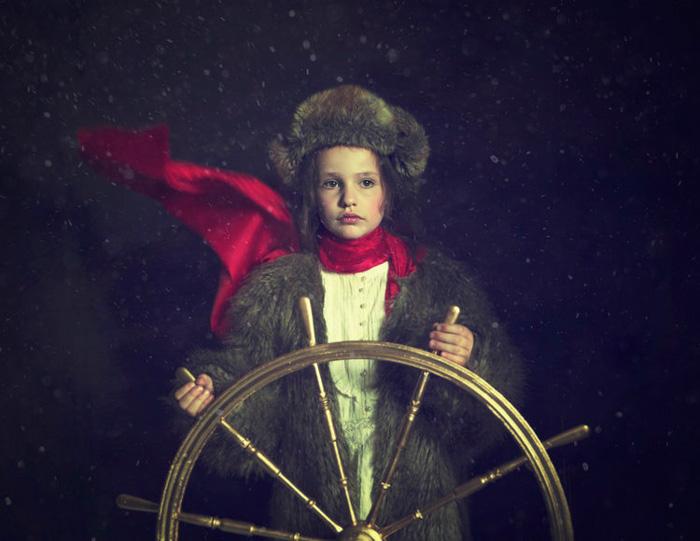 "Maren Klemp, ""Polar Explorer"", 2018 - From the series ""Utopia"" - Image courtesy of the Artist"