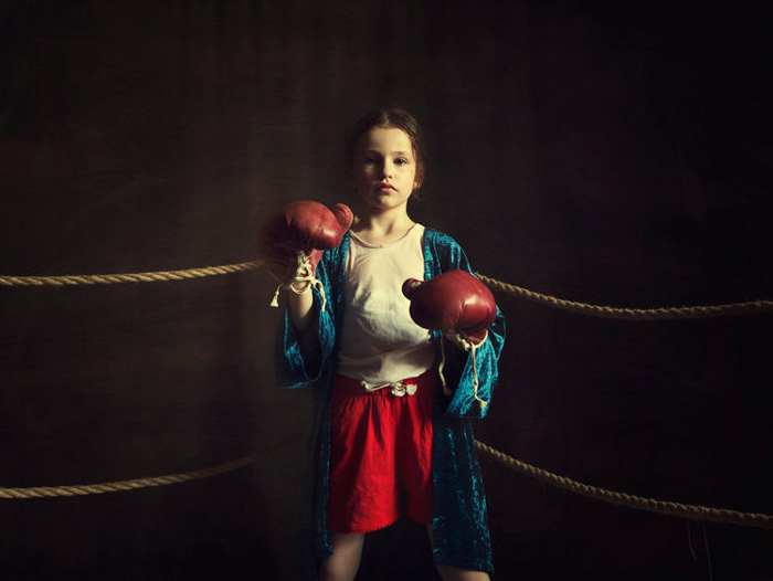"Maren Klemp, ""Boxer"", 2018 - From the series ""Utopia"" - Image courtesy of the Artist"