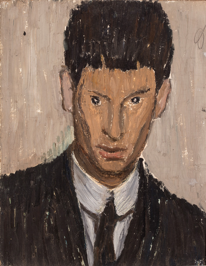 Osvaldo Licini, Autoritratto / Self-portrait, 1913