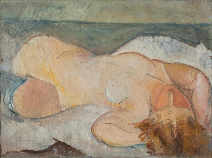 Osvaldo Licini, Il nudo / Nude, 1925