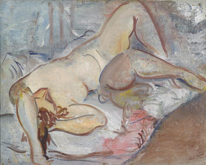 Osvaldo Licini , Nudo / Nude, 1926